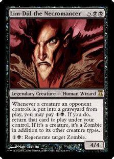 lim dûl the necromancer time spiral gatherer magic