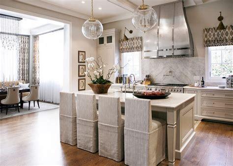 Warm White Kitchen Design & Gray Butler?s Pantry   Home