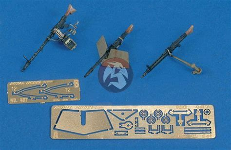 royal model  mg  mg  machine gun set german afvs