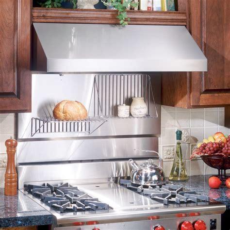 kitchen metal backsplash ideas stove backsplash ideas on broan stainless steel backsplash 5405