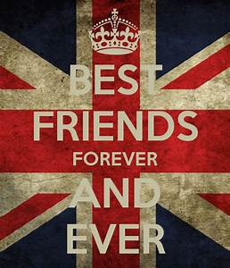 BEST FRIENDS FOREVER AND EVER Poster | Bogarde | Keep Calm ...
