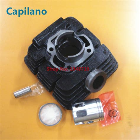 motorcycle dt50 cylinder block engine block kit with piston for yamaha 50cc dt 50 2 stroke