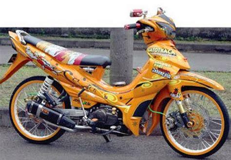 Modif Jupiter Z Kuning by Inspirasi Gambar Modifikasi Motor Jupiter Modern Bursa