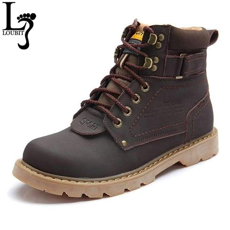 Fashion Men Winter Snow Boots Top Quality Ankle