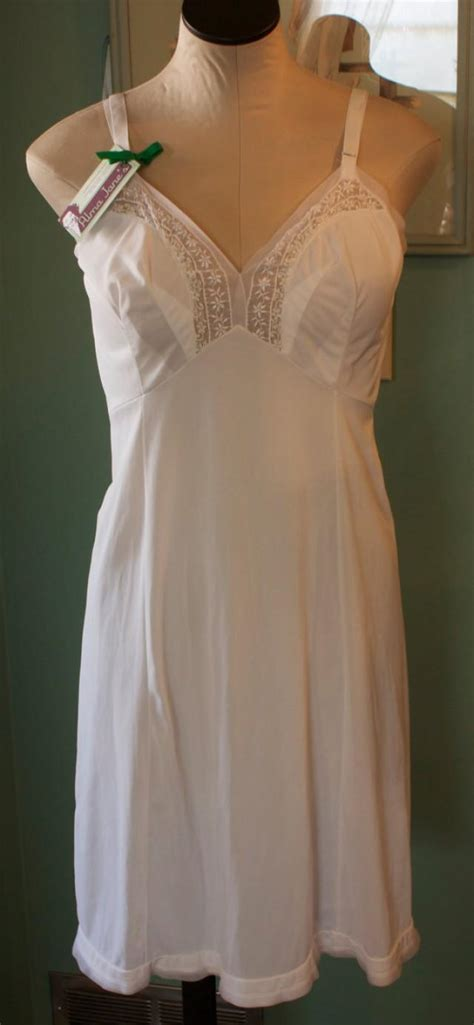 Vintage White Slip By Goddard Artemis, Women's Size 38 ...