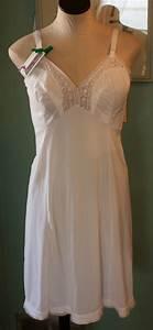 vintage white slip by goddard artemis 39 s size 38