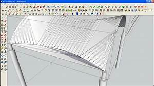 Nomeradona Modelling Tent Structure In Sketchup