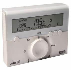 Thermostat D Ambiance Filaire : thermostat d ambiance sans fil et programmable bricozor ~ Melissatoandfro.com Idées de Décoration