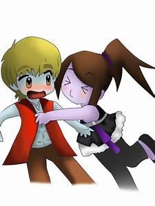 Chibi Hugging :3 by BRUTALxLEGEND on DeviantArt