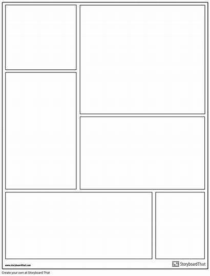 Graphic Novel Layout Create Template Templates Example