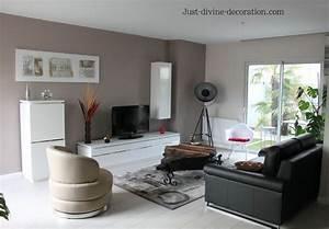 sejour contemporain taupe gris blanc noir living With lovely quelle couleur avec gris anthracite 0 le gris anthracite en 45 photos dinterieur