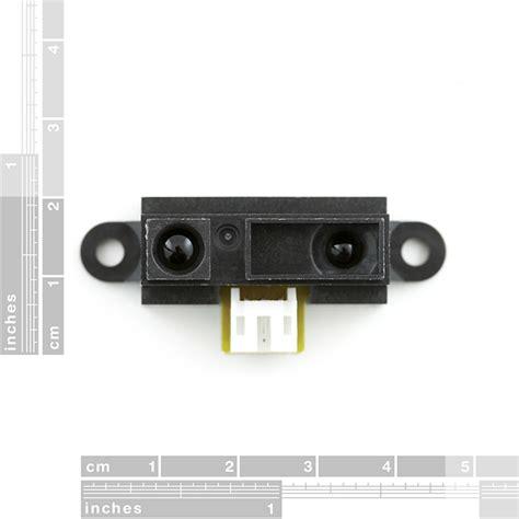 infrared proximity sensor range sharp gp2y0a41sk0f sen 12728 sparkfun electronics