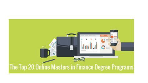 masters  finance programs college rank