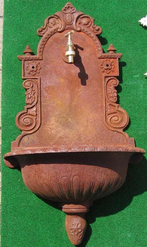 Nostalgischer Wandbrunnen Klassischer Stil 80cm Antik
