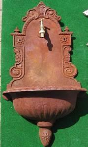 Gartendeko Auf Rechnung : nostalgischer wandbrunnen klassischer stil 80cm antik rost garten passion ~ Themetempest.com Abrechnung