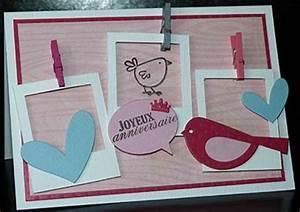 Fabriquer Carte Anniversaire : carte d anniversaire originale a fabriquer ~ Melissatoandfro.com Idées de Décoration