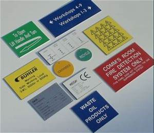 traffolyte labels valve tags and identification plates With engraved electrical labels