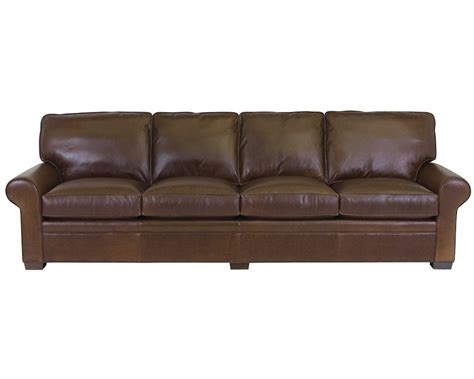 classic leather library sofa   leather furniture usa