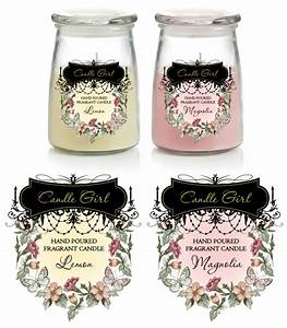 candle labels template With candle label design template