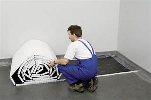 Estrichaufbau Mit Fußbodenheizung : tackersystem eine von zwei verlegearten einer fu bodenheizung ~ Michelbontemps.com Haus und Dekorationen