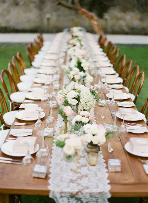 long table wedding reception decoration ideas archives
