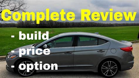 Hyundai Elantra Build And Price by 2018 Hyundai Elantra Sport Automatic Sedan Build Price
