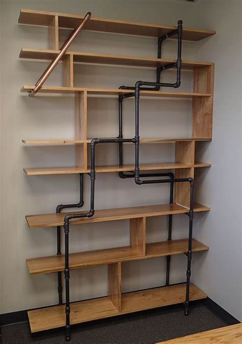 3 Foot Wide Bookcase by Office Bookshelf Made Of 12 Quot Poplar Boards And 3 4 Quot Black