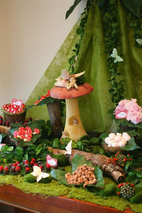 karas party ideas enchanted forest woodland fairy girl birthday party planning ideas