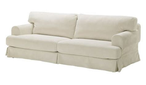 corduroy slipcovers for sofas ikea hovas 3 seat sofa slipcover graddo off white