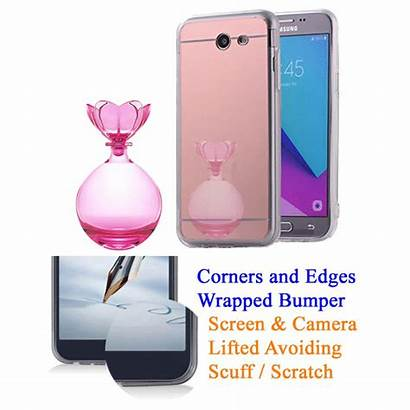 Phone Case Eclipse Mirror Galaxy Samsung Makeup