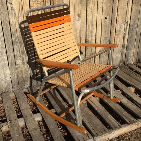 Webbed Lawn Chairs With Wooden Arms by Webbed Lawn Chairs With Wooden Arms