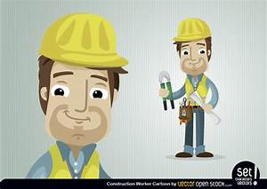 Construction Worker Character - Vector download