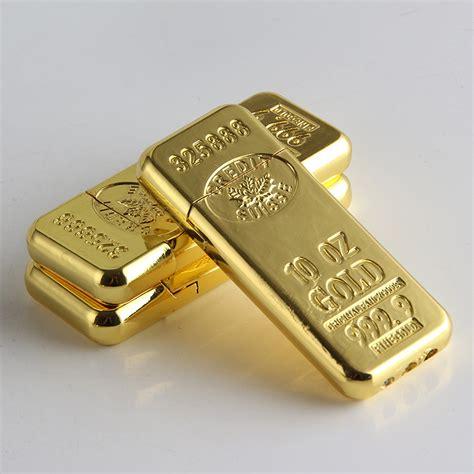 Gold Bar Accessories by Cigarette Accessories Fashion New Gold Bar Shape Butane