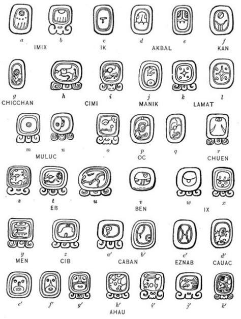 (no title)   Mayan glyphs, Mayan symbols, Ancient alphabets
