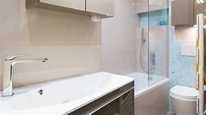 amenagement petite salle de bain plans gratuits idees With renover une petite salle de bain
