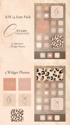 ios app icons iphone aesthetic  app pack ios