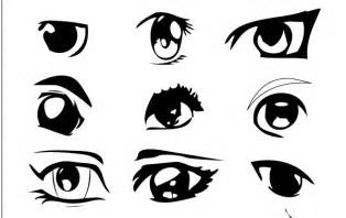 Cartoon Anime Eye Drawings