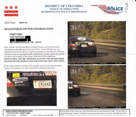 when do red light tickets come in the mail how to beat a photo enforced speeding ticket or red light