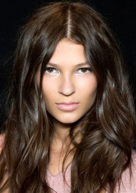 Rich Glossy Brown Hair by 30 And Rich Brown Hair Ideas Styleoholic