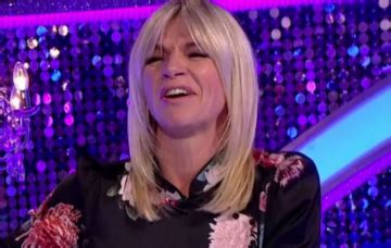 Zoe Ball forced to apologise following almighty Strictly ...