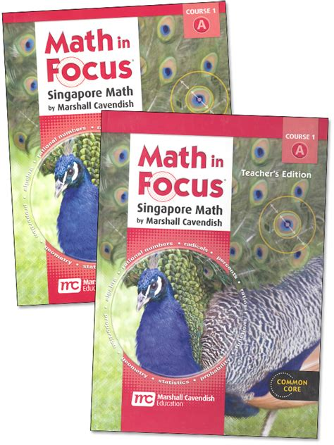 Math In Focus The Singapore Approach  Product Browse  Rainbow Resource Center, Inc