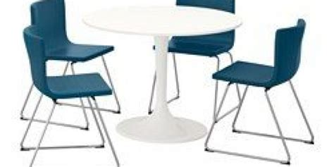 Docksta / Bernhard Table And 4 Chairs White, Blue (ikea Canada (english)) Beach Umbrella And Chairs Stackable Chair Covers Pixar Up Lounge High For 1 Year Old Comfortable Folding Kids Ghost Portable Massage