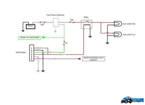 Pt Cruiser Fog Light Wiring Diagram by Fj Fog Light Switch Harness Pt297 35070 Sh As 68 57
