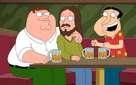 family guy peter griffin glenn quagmire beer jesus