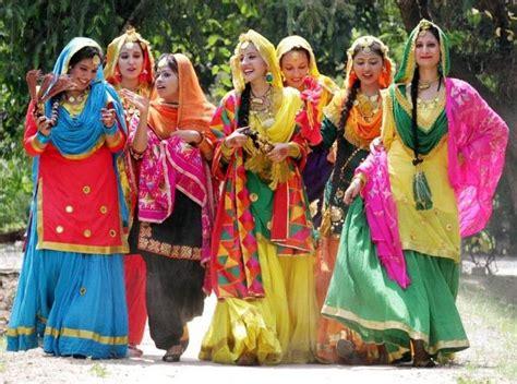 punjabi lehenga punjabi girls dress pinterest