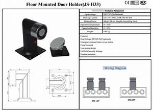 24v Floor Mounted Electromagnetic Door Holder Manual