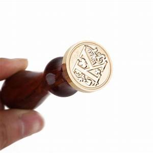 Buy cheap letter wax stamp alphabet letter k wax seal for Letter wax seal stamp