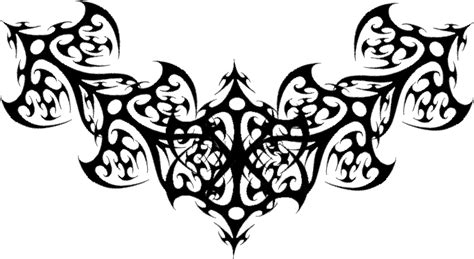 Classic Tribal Gothic Tattoo Design