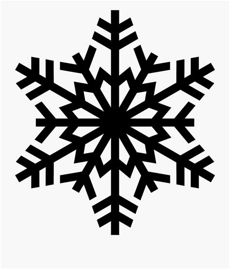 Transparent Background Snowflake Silhouette Snowflake Clip by Images Free Snowflake Image Transparent
