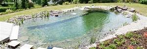 Construction Piscine Naturelle : la piscine naturelle entre avantages et inconv nients eti construction ~ Melissatoandfro.com Idées de Décoration